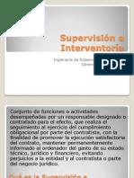 Supervisión e Interventoría