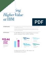 2011 Ibm Higher Value