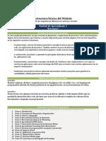 Estructura Modulo para enseñanza de competencias