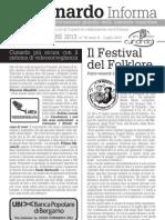 Info cunardo SPECIALE TENCITT, Luglio 2013