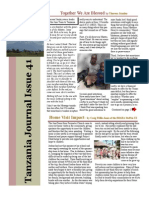 July Tanzania Journal