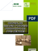 Manual Crianza y Manejo Productivo Patos
