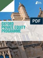 Oxford PE Programme