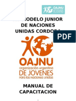 Manual de Capacitación Modelo Junior 2013 - Oajnu -