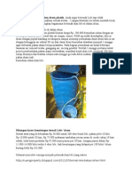Berternak Ikan Lele Di Dalam Drum Plastik
