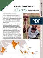 Una Vision Nueva Sobre Resiliencia Comunitaria