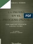 La Prueba en El Proceso Penal - Jos Cafferata Nores