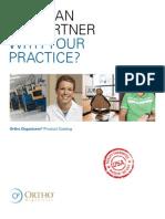 Orthodontic Supplies Catalog