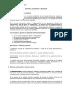 clase auditoria, definición y objetivos
