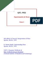 apresentação espectrometria de massa-fragmentação