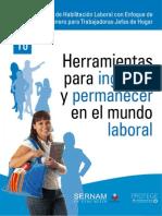 Taller de Habilitación Laboral con Enfoque de Género para Trabajadoras Jefas de Hogar- 10 Herramientas para ingresar y permanecer en el mundo laboral
