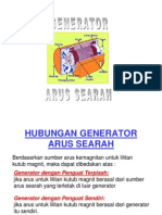 Hubungan Generator Arus Searah