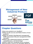 Management of New Industrial Products
