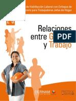 Taller de Habilitación Laboral con Enfoque de Género para Trabajadoras Jefas de Hogar- 02 03 Relaciones de genero y trabajo