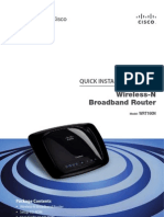 Cisco Wireless Router Model WRT160N Quick Installation Guide
