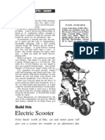 Electric Scooter Plans