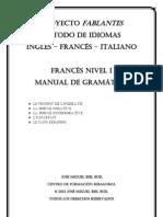 PROYECTO FABLANTES - METODO DE IDIOMAS - FRANCES NIVEL I - MANUAL DE GRAMATICA