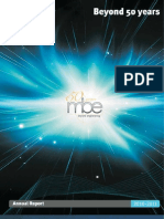 MBE Annual Report 2011