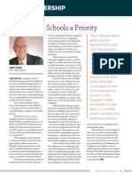 Making Our Schools a Priority