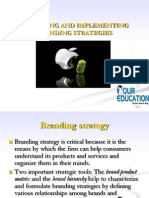 Designing Branding Strategies