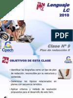 Clase 09 Lenguaje LC Cpech - Redaccion (OliverClases)