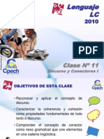 Clase 11 Lenguaje LC Cpech - Discurso y Conectores (OliverClases)
