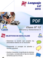 Clase 12 Lenguaje LC Cpech - Discurso y Conectores (OliverClases)