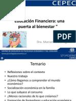 Presentaci+¦n Educacion financiera, Dra. Denegri