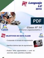 Clase 14 Lenguaje LC Cpech - Discurso Argumentativo (OliverClases)