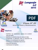 Clase 20 Lenguaje LC Cpech - Actos de Habla (OliverClases)