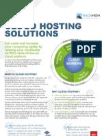 Saudi Arabia Cloud hosting Solutions