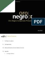 Admin Investors Presentations Corporate Presentation July 2012
