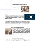 IDEOLOGÍAS DE LAS NACIONES ENFRENTADAS EN LA GUERRA FRÍA