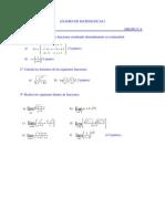 Funcioneselementales Rep y dominios y límites 1º Bto 2009
