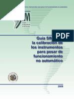 Guia SIM Para La Calibracion de Los Instrumentos Para Pesar
