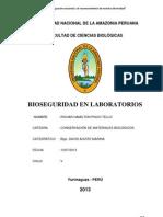 Bioseguridad en Laboratorios