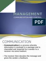 Management - Communication Control