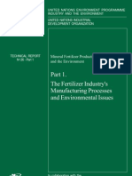 Fertilizer Industry's Manufacturing Processes & Environmental Issues - UNEP