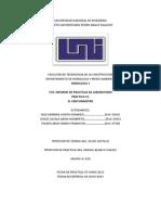 INFORME PRACT 5( Venturimetro)