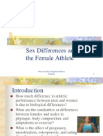Sex Differences and the Female Athlete-1