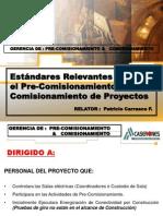 Estandares de Pre-comisionamiento Jrq Rev.2