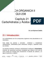 Cap. VIII Carbohidratos y Acidos Nucleícos