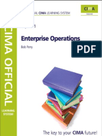 CIMA E1 Enterprise Operations Study Text