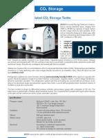 Polyurethane Insulated CO2 Storage Tanks