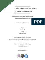 Estudio y simulación CFD de una hélice para propulsión de un ROV - Jordi Bartrons