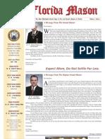 Florida Mason & Masonic Lifestyle 2008 Vol 1 Iss 1