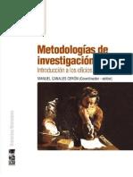 Metodologías de investigación social