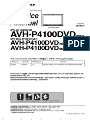 pioneer avh p4100dvd mp3 electrical connector  pioneer avh p4000dvd wiring getting