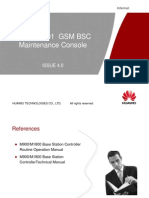 GSM BSC Maintenance