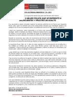 ASCIENDEN A MUJER POLICÍA QUE SE ENFRENTÓ A DELINCUENTES Y FRUSTRÓ UN ASALTO.doc